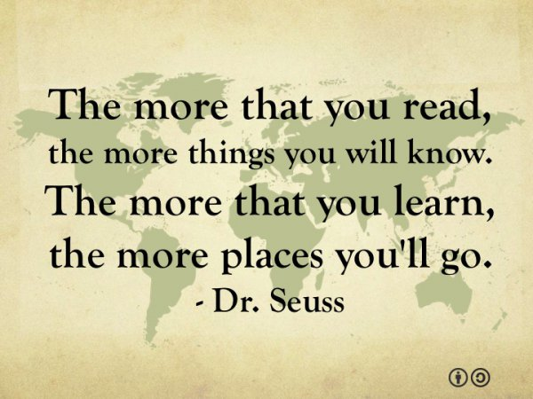 Dr. Seuss on Learning